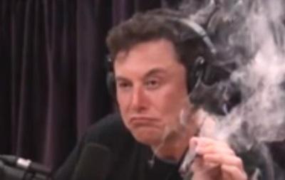 Ілон Маск покурив марихуану в прямому ефірі