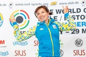 Українка Костевич – чемпіонка світу з кульової стрільби