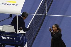 Серена Вільямс звинуватила в сексизмі суддю фіналу US Open