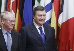 Янукович в Брюсселе назвал приоритеты своей внешней политики