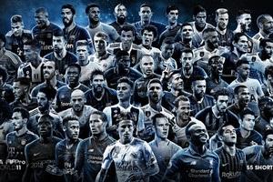 FIFPro назвала 55 претендентів на включення у збірну року