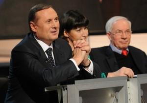 Лидер фракции регионалов высмеял Яценюка за призыв отправить Азарова в отставку