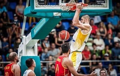Баскетбол: Украина сенсационно обыграла Испанию