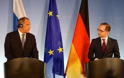 Глави МЗС Німеччини та РФ обговорили виконання Мінських угод