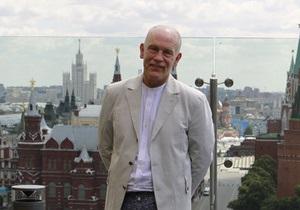 Джон Малкович получил в Москве награду за вклад в кино