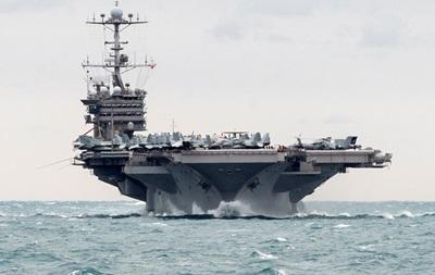 В Средиземное море вошла авианосная группа США