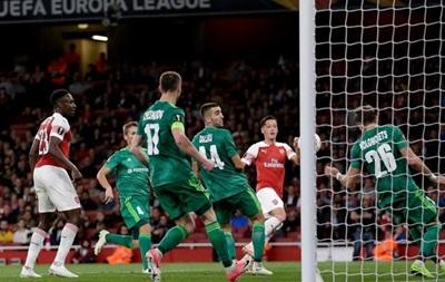 Арсенал - Ворскла 4:2. Відео голів та огляд матчу Ліги Європи