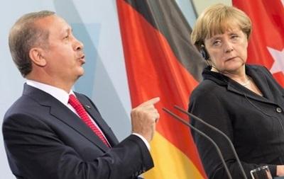Меркель не буде на банкеті з нагоди візиту Ердогана - ЗМІ