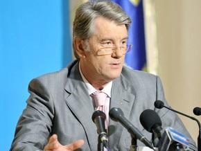 Ющенко призывает ЕС присоединить Украину к своей системе газоснабжения