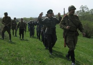 На Прикарпатье во время воссоздания боя красноармейцев с немцами застрелили пенсионера