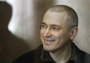 Ходорковский вошел в пятерку самых влиятельных заключенных планеты