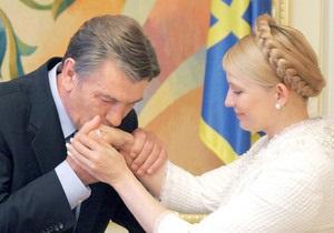 Ющенко: Украинцы переживают за Тимошенко, поскольку сентиментальны