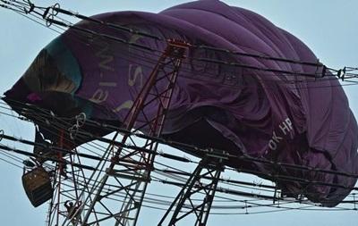 У Німеччині повітряна куля налетіла на ЛЕП