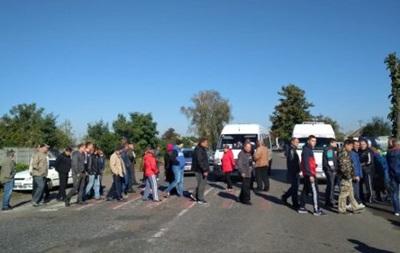 У Черкаській області протестувальники перекрили трасу на Київ
