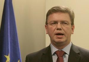 Еврокомиссар Фюле в ходе визита может посетить Тимошенко в СИЗО