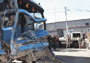 В Боливии пассажирский автобус протаранил 21 машину: двое погибших, более двадцати раненых