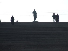 Волонтеры из Германии помоют Потемкинскую лестницу