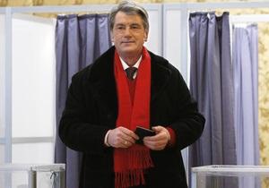 Ющенко: Украине будет стыдно за эти выборы