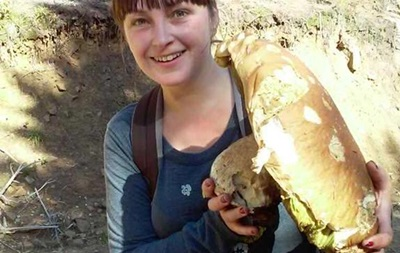 У Львівській області знайшли гігантський гриб