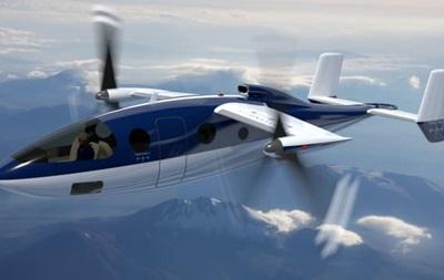 Самолет с вертикальным взлетом представили в США
