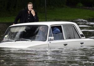 Украине не хватает 285 млн гривен на ликвидацию последствий наводнения