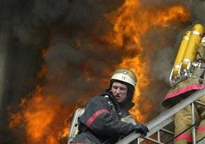В Киеве горел склад Минобороны