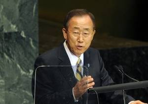Генсек ООН Пан Ги Мун отмечает день рождения
