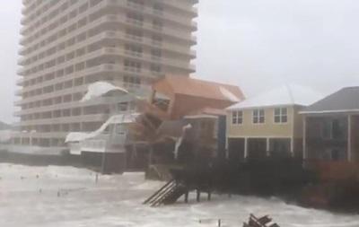 Ураган Майкл обрушился на Флориду