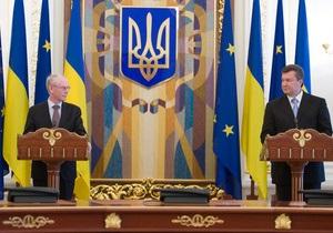Ван Ромпей о безвизовом режиме с Украиной: Важны не сроки, а результат