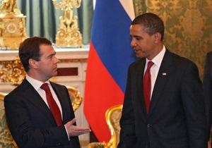 Медведев пожелал Обаме в новом году стабильности в мире