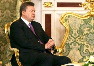 Янукович определил первоочередные задачи в отношениях с Россией