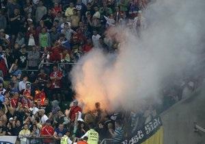 Польская полиция разыскивает россиян, участвовавших в драке на стадионе