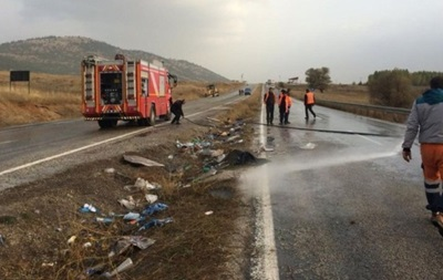 В Турции перевернулся автобус: семь жертв