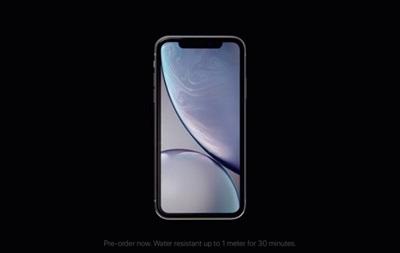 Появились официальные видео с новым iPhone XR