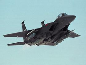 В Японии во время учебного полета пропал истребитель F-15