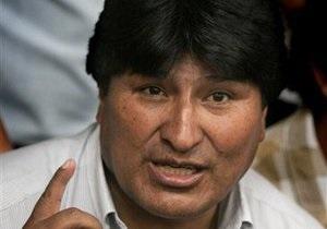 Президент Боливии утроил свой капитал благодаря подаренным пончо