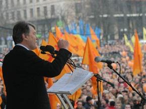 Ющенко: Майдан никому не удастся повторить за деньги