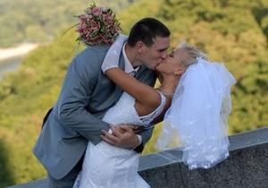 Опрос: Большинство украинцев вступают в брак по любви