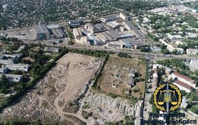 В Харькове нашли незаконную свалку на восемь гектар