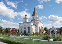 Новая церковь в Козинском районе