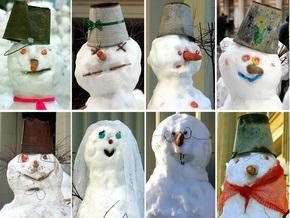 Фотогалерея: Люди снега