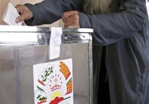 Выборы в Таджикистане с огромным отрывом выиграла провластная партия