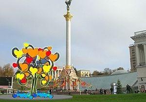 В центре Киева установят дерево Валентина