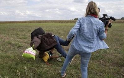 Суд виправдав угорську журналістку, яка поставила підніжку біженцю