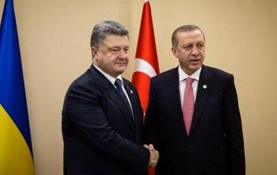 Порошенко рассказал оботношениях между государством Украина иТурцией