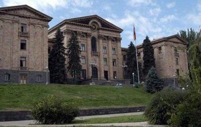 У Вірменії розпущений парламент