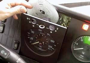 Рада ввела обязательное использование тахографов на автомобилях международных перевозчиков