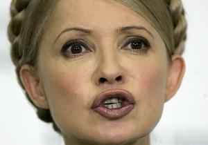 Тимошенко: ЦИК отказал наблюдателям от Грузии, чтобы скрыть фальсификации Януковича