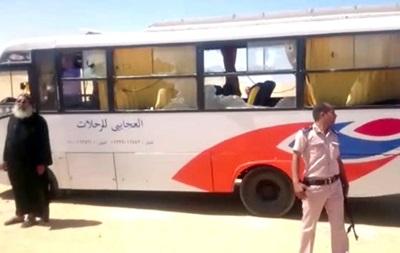 ВЕгипте совершено нападение наавтобус схристианами. необошлось без жертв