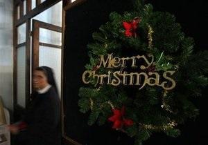 Католики и протестанты всего мира отмечают Рождество